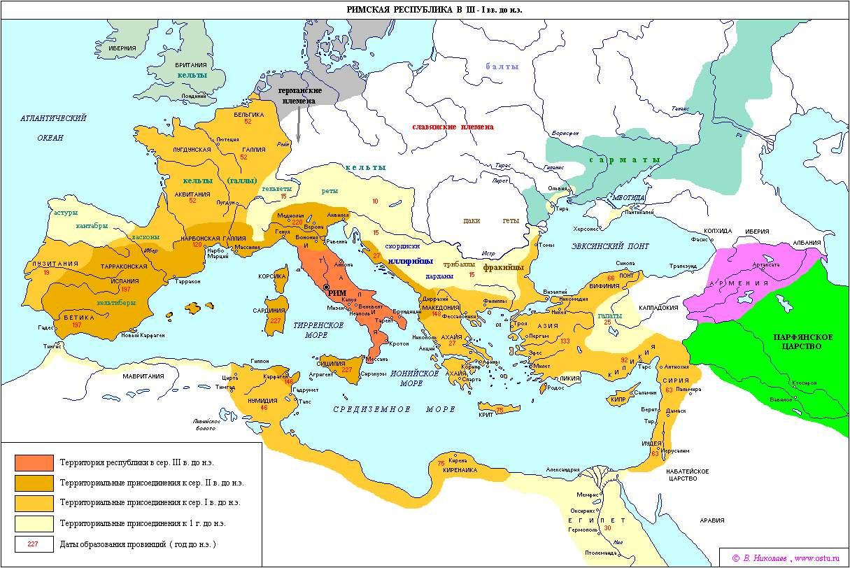 Римская республика в 3 1 вв до н э